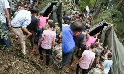 Army truck accident in shimla