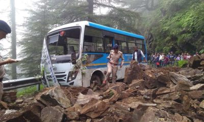 Landslide in Hassan Valley Shimla 3
