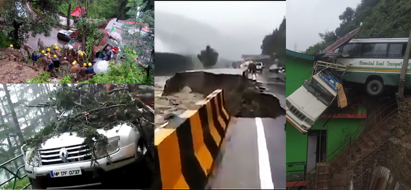 Monsoon Damages in Himachal Pradesh