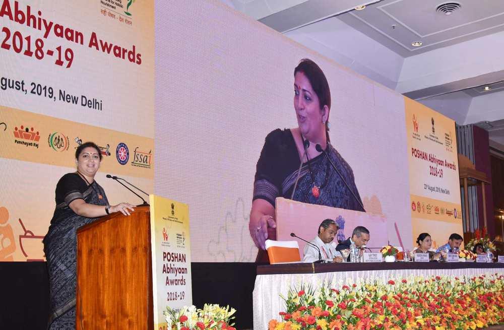 Poshan Abhiyan Awards to Himachal Pradesh