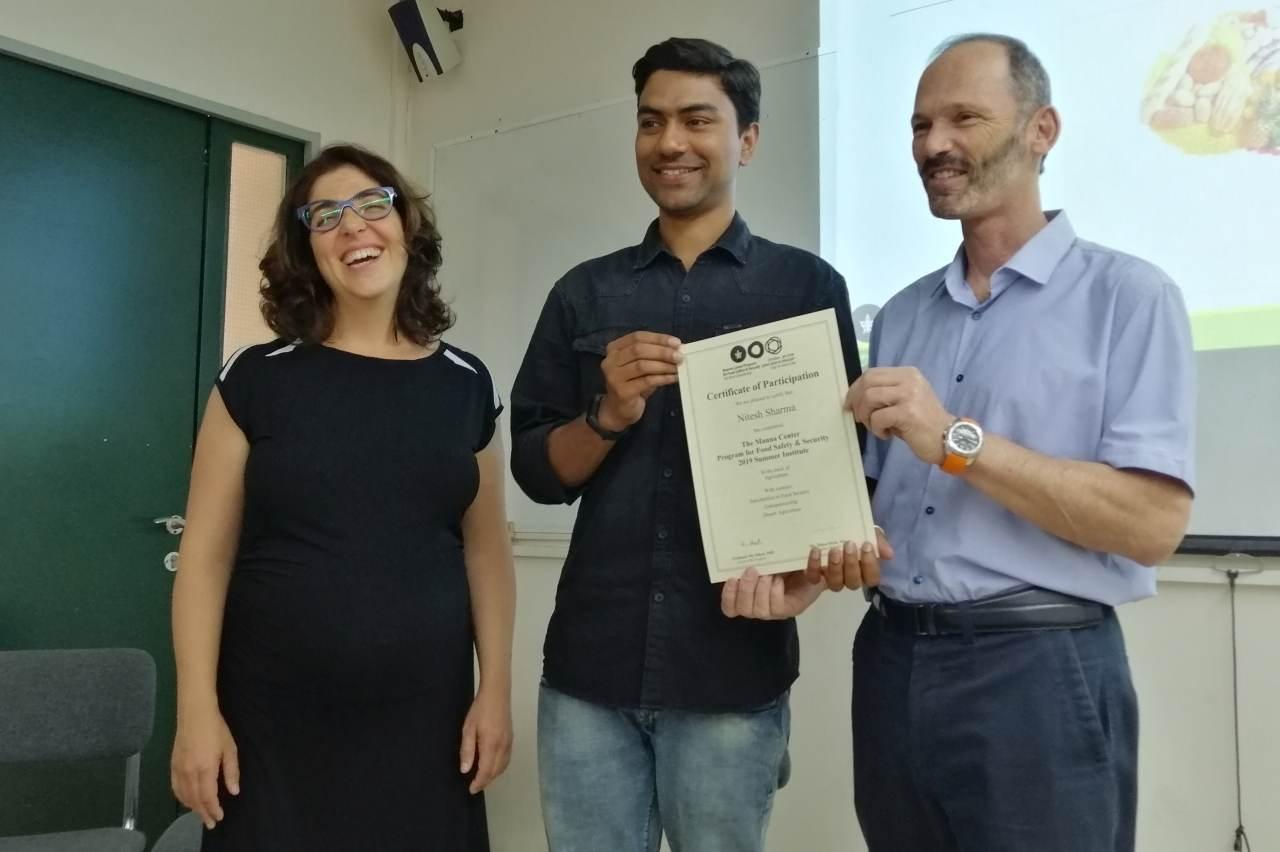 UHF Nauni Scholar Nitesh Sharma
