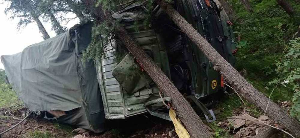 army truck in Shimla