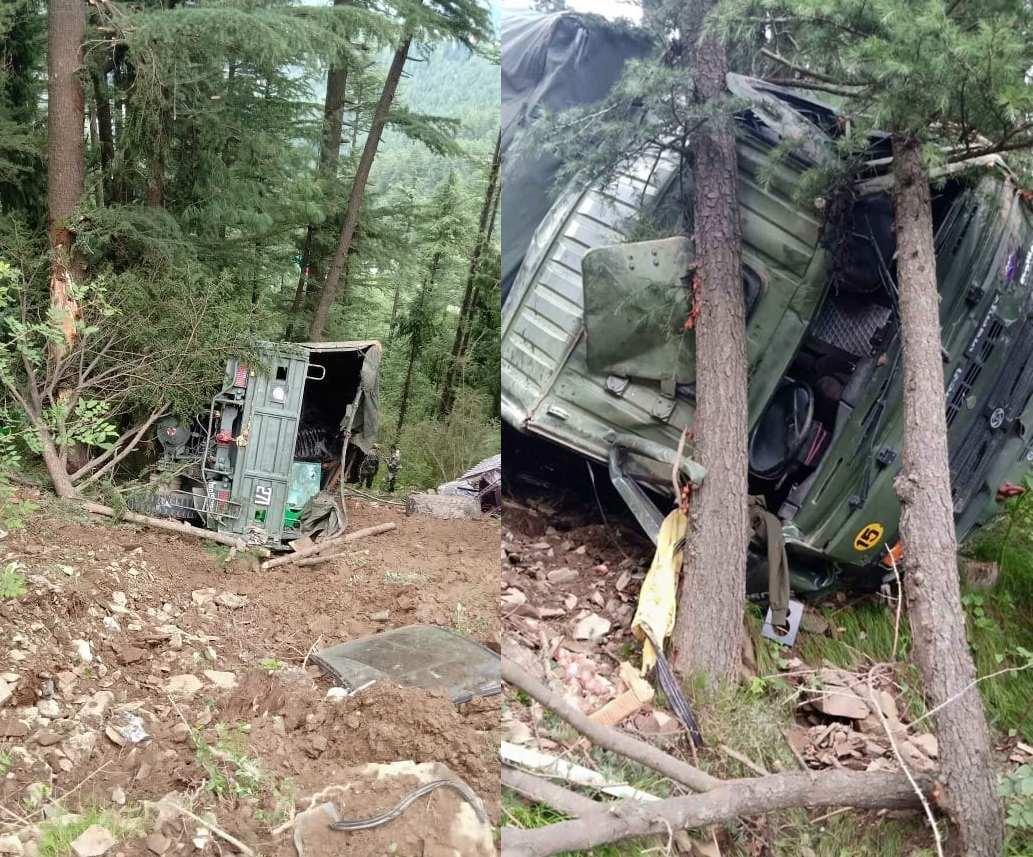 shimla army truck accident