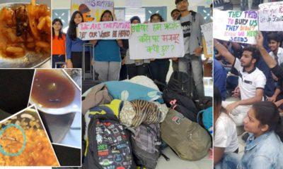 HPNLU Student Protest in Shimla