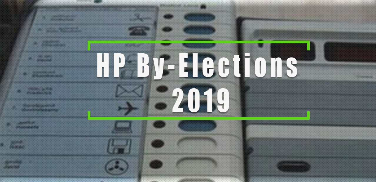 Hp By-Elections 2019 Dates