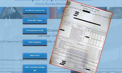 Shimla MC Online Garbage Bill Payment Portal