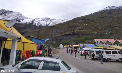 Snowfall in manali and rohtang pass in september 2019