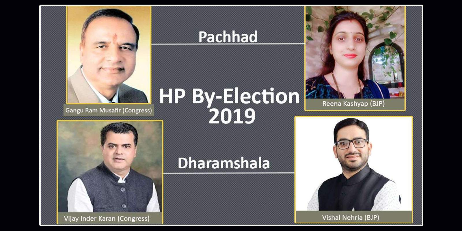 Detailed Hp by-election 2019 results