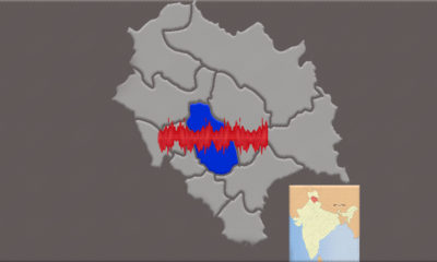 Earthquake in Mandi district in 2019 2