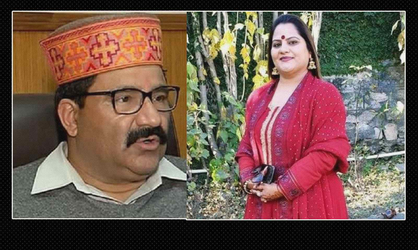 HP Transport Minister's Wife Misuse HP Govt Vehicle 2