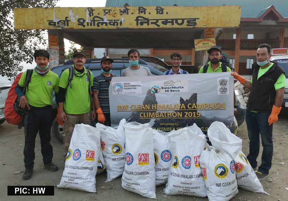 IMF shrikhand Mahadev Cleaning Campaign 2019 4