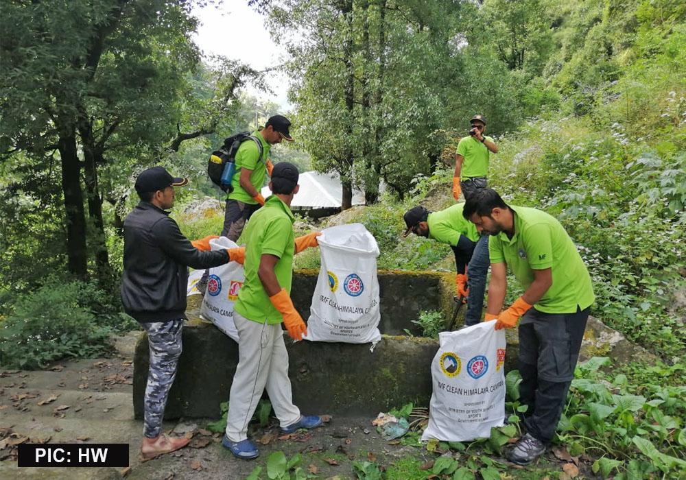 IMF shrikhand Mahadev Cleaning Campaign 2019 2