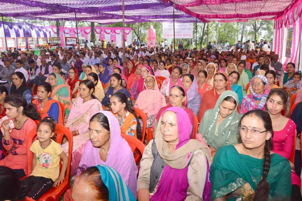 Kisan Mela at Diggal nalagarh on water conservation4