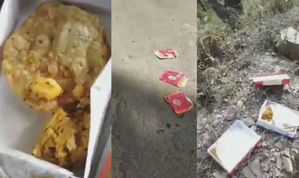 Poor quality food to pachhad election duty officials