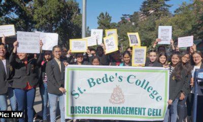St Bede's College Shimla DRR Ralley