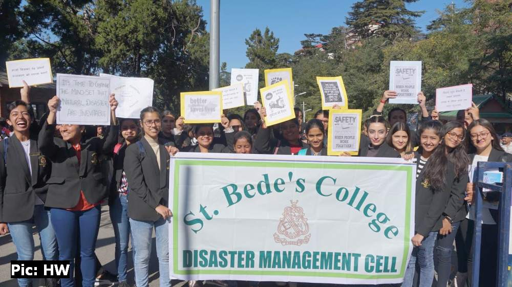 St Bede's College Shimla DRR Ralley