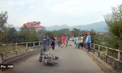 sarkaghat bike accident kills youth