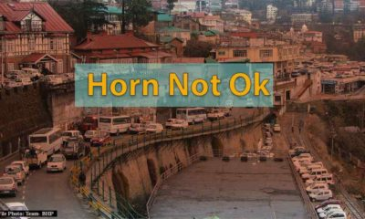 Horn Not Ok Campaign in Shimla