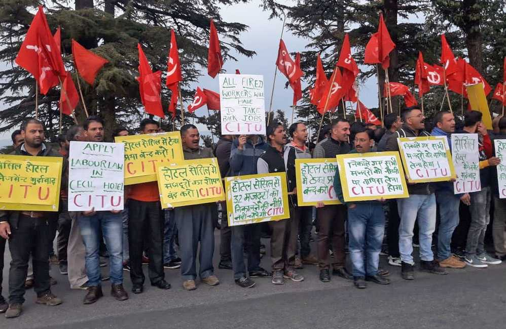 Oberoi Cecil hotel shimla fires workers