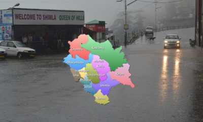 Snow and rain in himachal pradesh in november 2019