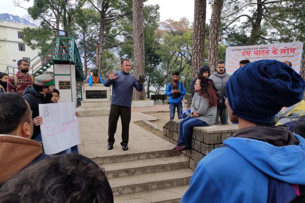 Dharamshala Protest Against CCA and NRC 2