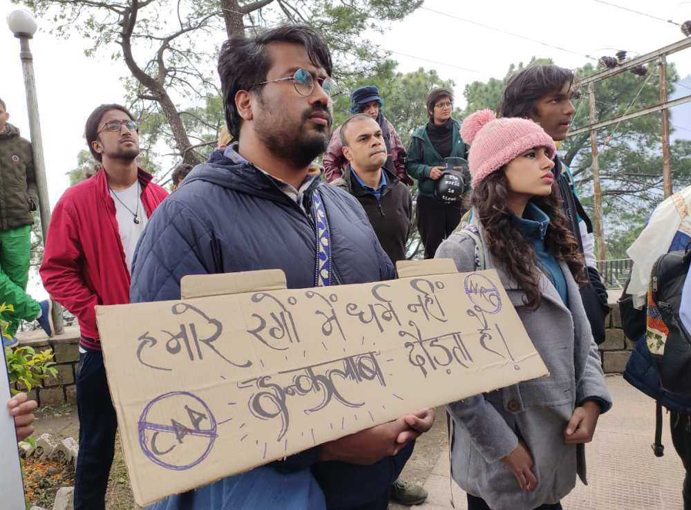 Dharamshala Protest Against CCA and NRC 6