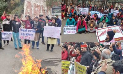 Protest against Citizenship Act in Himachal Pradesh