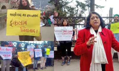 Shimla Citizen Forum Protest Against CAA and NRC
