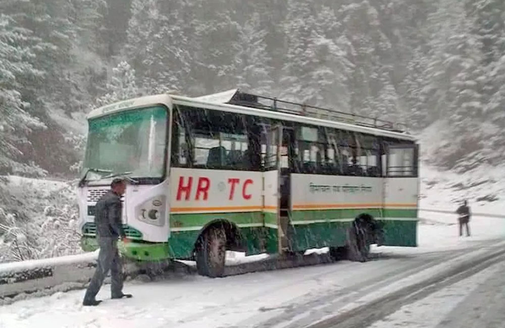 Snowfall in Shimla and Manali 2019
