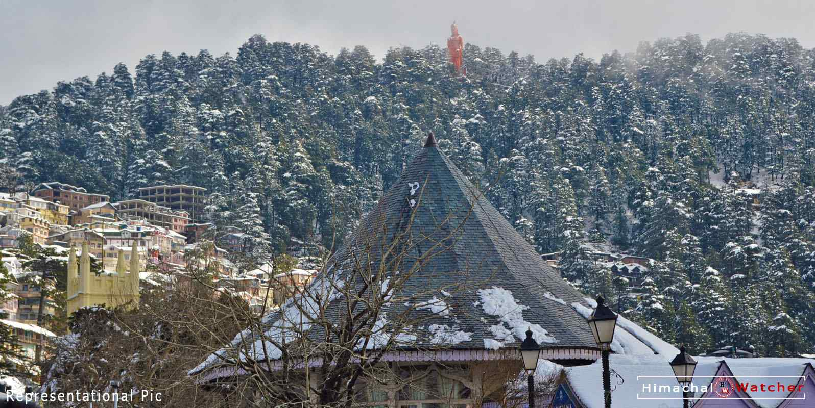 Snowfall in shimla and kullu manali in december 2019