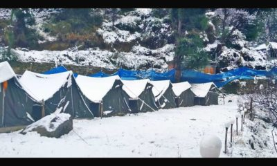 Snowfall in Shimla and Manali