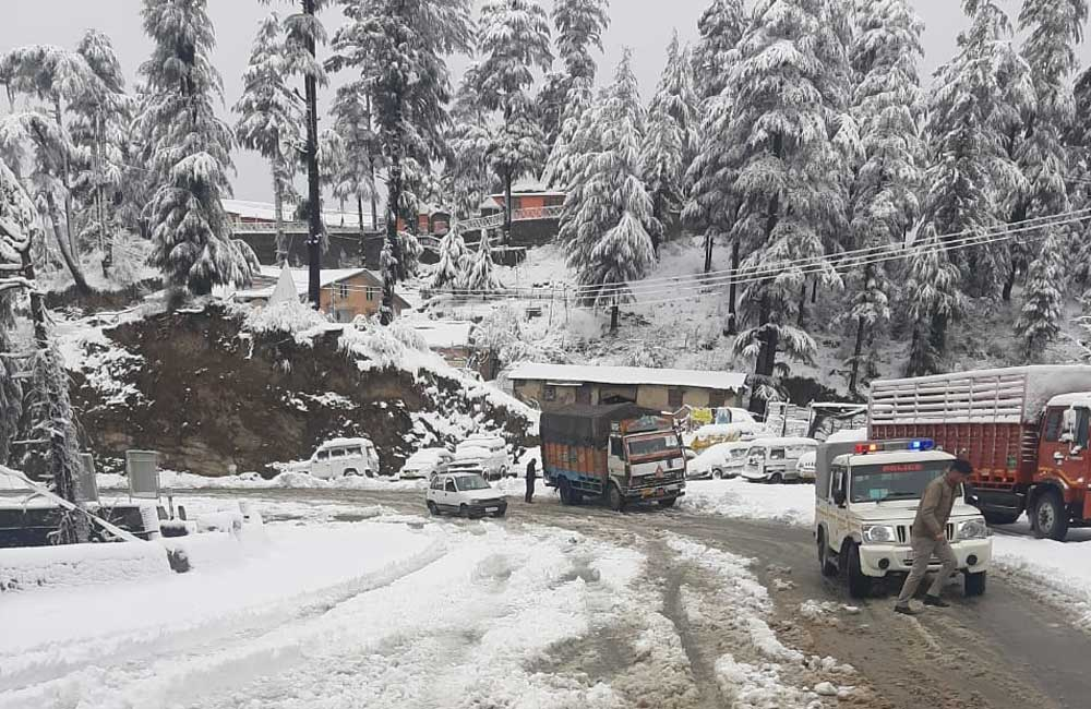 Snowfall-in-shimla-feb-2020