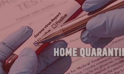 Corona virus home quarantine