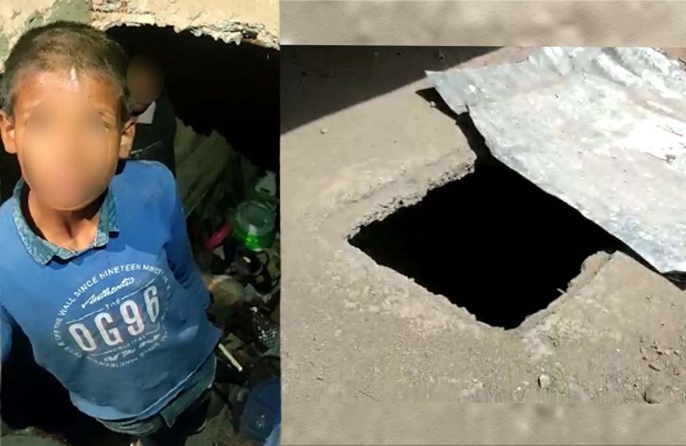 Children living in underground tank in shimla's sanjauli