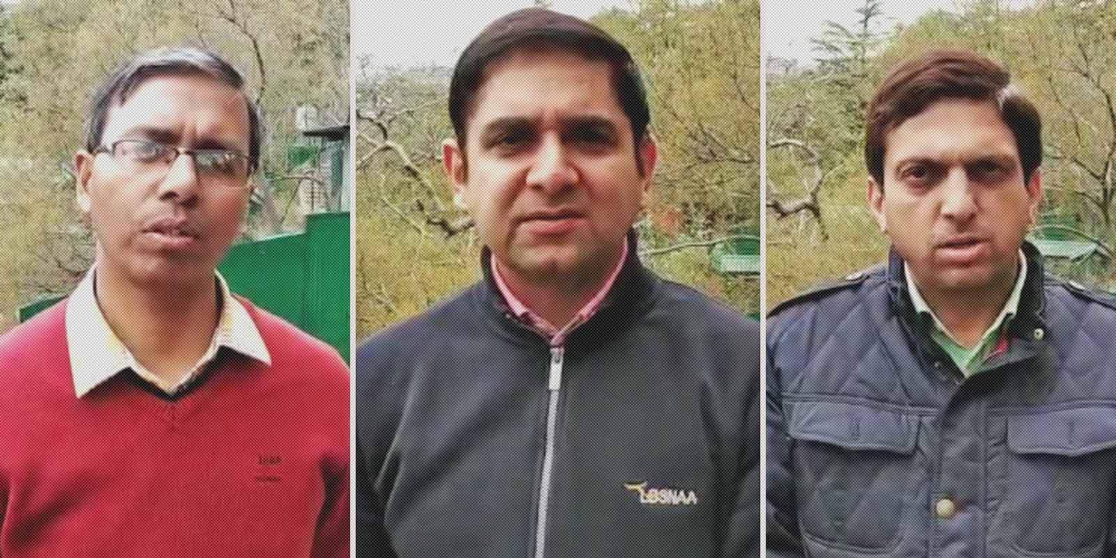 Himachal's IPS and IAS Officers Appeal to tablighi jamaatis2