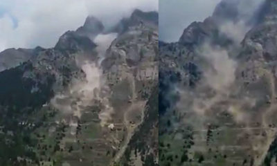 Pangi Landslide video