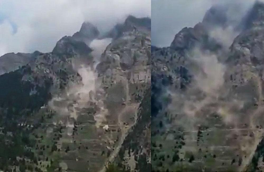 Pangi Landslide video