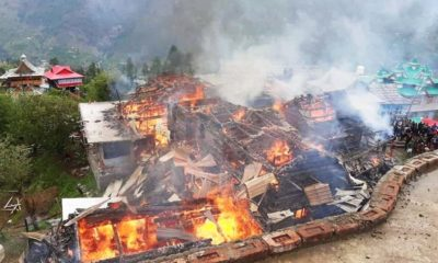 photo of Fire in Chidgaon in rohru