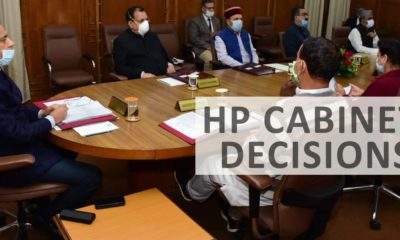 All HP Cabinet Decisions May 2, 2020
