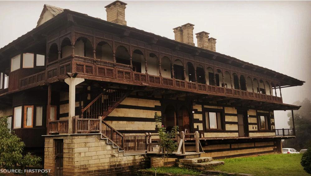 Himachal Pradesh Satyanad strokes house in shimla