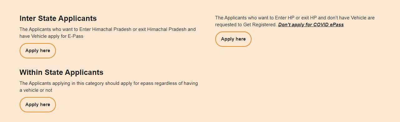 How to apply for HP Govt E-Pass1