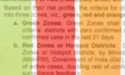 What COVID-19 ZOnes Mean In Indai