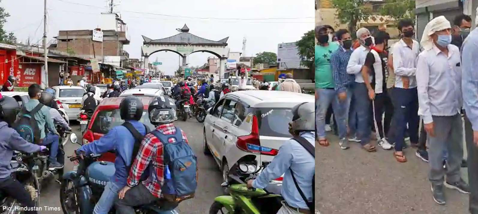 mass entry of people into himachal pradesh