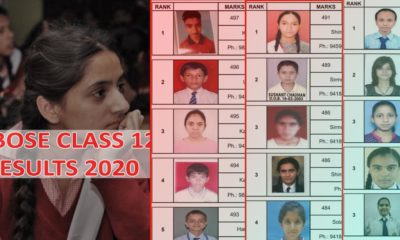 Himachal Pradesh HPBOSE Class 12 merit list 2020 and toppers