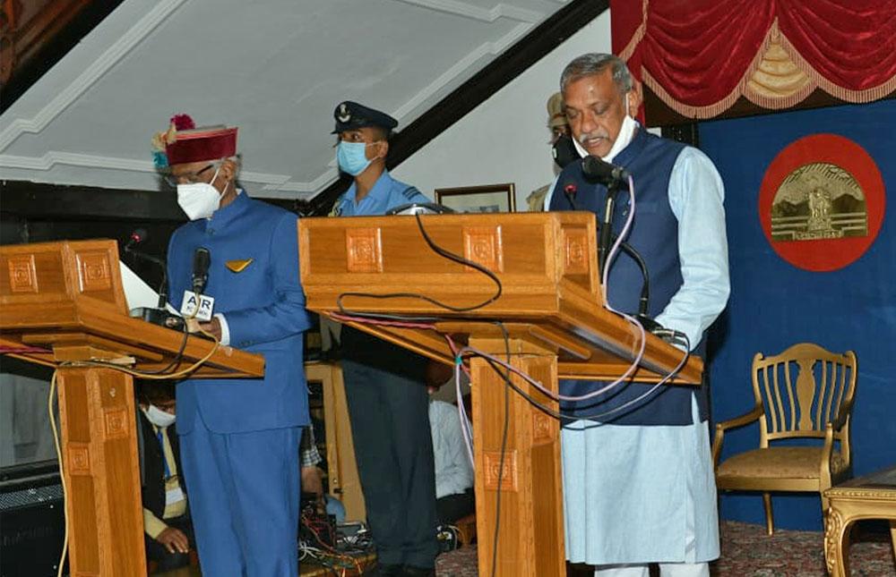 HP Cabinet Minister Sukh Ram Chaudhary