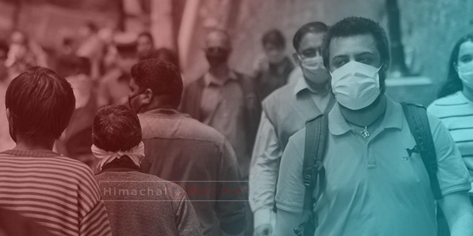 Himachal Pradesh 1000 cOVID-19 cases