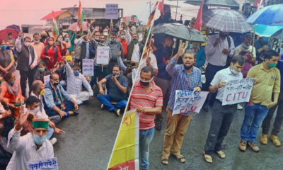Himachal Pradesh bus Fare hike protests