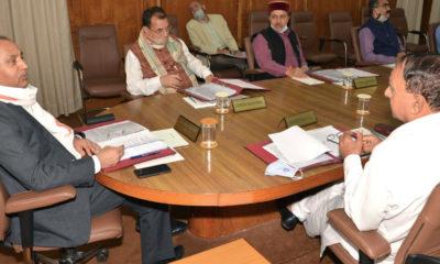 Himachal Pradesh cabinet meeting july 10, 2020