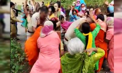Kangra video policeman beaten