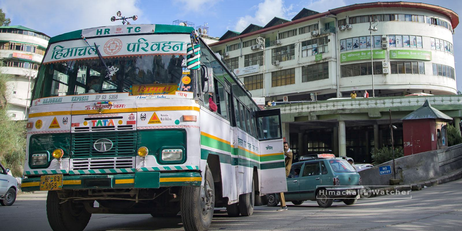 Himachal Pradesh night bus service